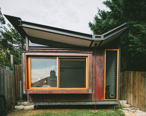 Butterfly Roof Steel : Butterfly roof houzz