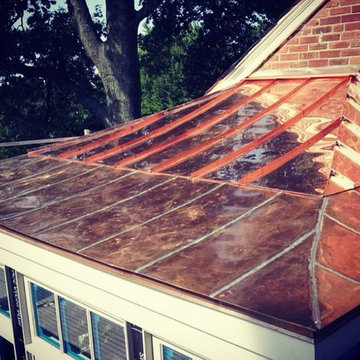 Copper Roof Addition