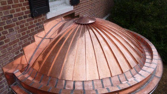Copper Standing Seam Roof - Guilford