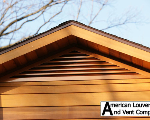 Gable Attic Vent Louvers