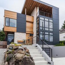 Contemporary Exterior by Chris Pardo Design - Elemental Architecture