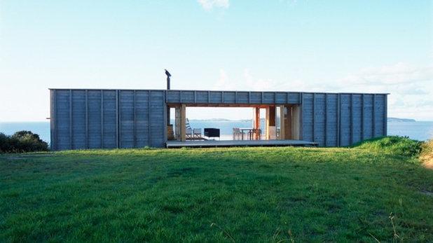 コンテンポラリー 家の外観 by Crosson Architects