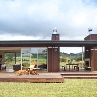 Einstöckiges Modernes Haus in Auckland