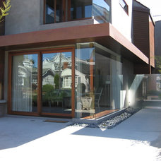 Contemporary Exterior by Heil Builders