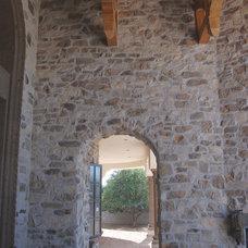 Mediterranean Exterior by Coronado Stone Products