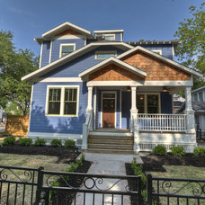 Traditional Exterior by Bayou Banks Classic Homes