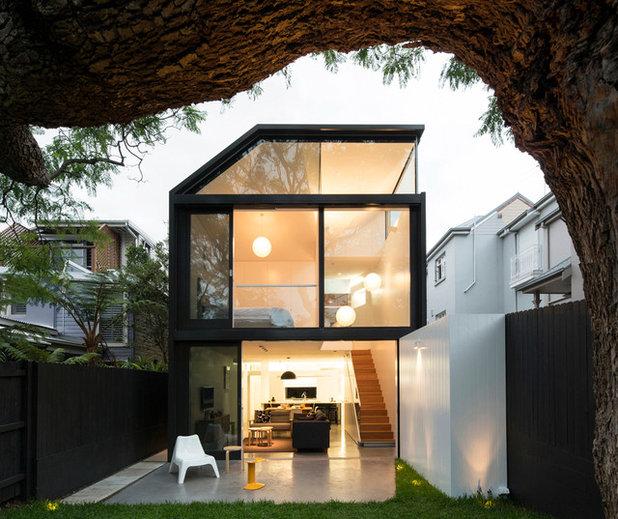 Contemporain Façade by Christopher Polly Architect