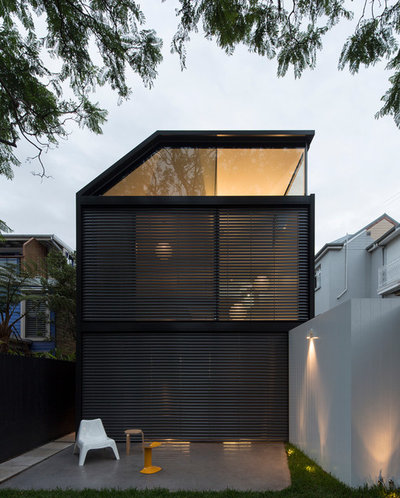 Contemporary Fasad by Christopher Polly Architect
