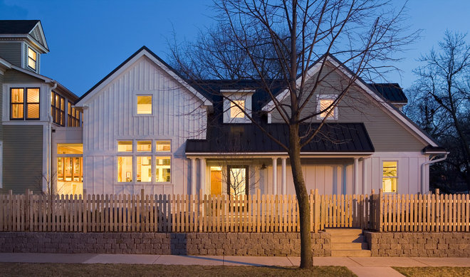 Traditional Exterior by TreHus Architects+Interior Designers+Builders