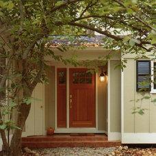 Transitional Exterior by Patricia B. Warren, AIA   Warren Architecture, LLC
