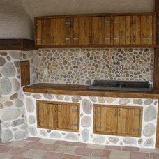 Mediterranean Exterior cottage