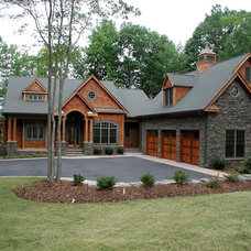 traditional exterior by McSpadden Custom Homes