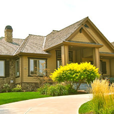 Traditional Exterior by Archistructure, Inc.