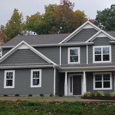 Traditional Exterior by Keith Homes, Inc