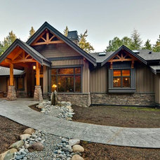 Traditional Exterior by S.P.Riley Residential Design Ltd