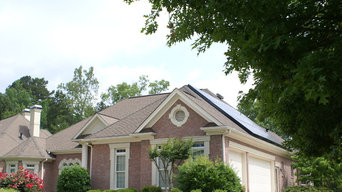 Country Club Home Solar Panel Installation