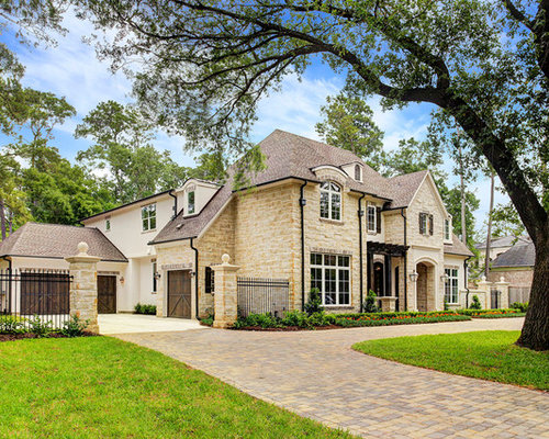 Country French In Stone And Stucco 131105