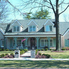 Traditional Exterior by Donna F. Boxx, Architect, P.C.