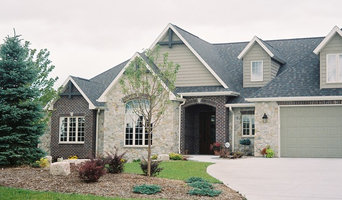 Country French Stone & Brick Facade