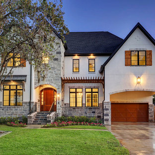 This is an example of a classic exterior in Houston.