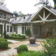 Traditional Exterior by Land Plus Associates, Ltd