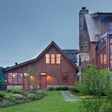 Farmhouse Exterior by Rill Architects