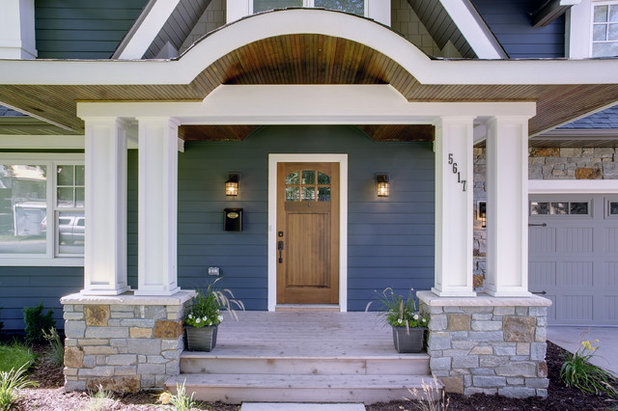 Traditional Exterior by Sicora Design/Build