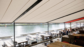 Coupled Markilux Pergola for Commercial Applications