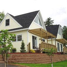 Exterior by O'Sullivan Architects, Inc