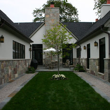 Traditional Exterior by Great Lakes Landscape Design