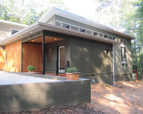 Fiber cement siding houzz for Modern fiber cement siding