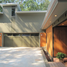 Contemporary Exterior by Bork Design, Inc.