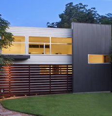 contemporary exterior by Studio Robins Dempsey