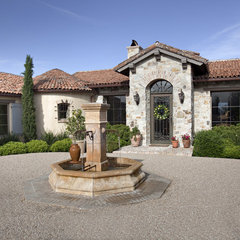 mediterranean exterior by Tom Meaney Architect, AIA
