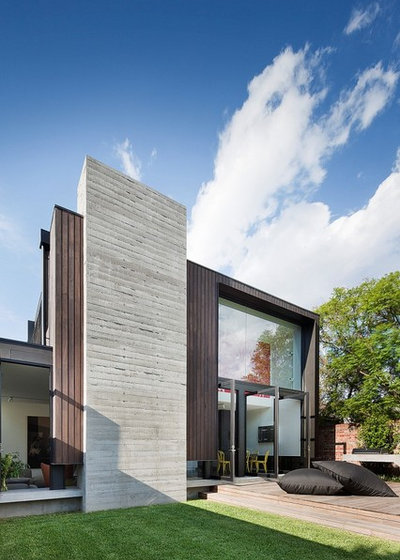 Contemporary Exterior by Nixon Tulloch Fortey Architecture