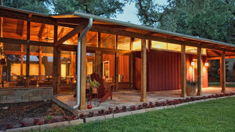 Covered Clerestory Lighting under Overhang and Screened Porch Added much to this