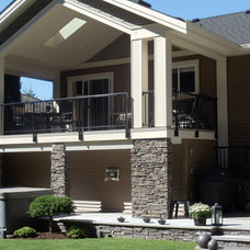 Traditional Exterior by Mike Lobe Contracting Ltd
