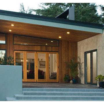 Covered Exterior Porch