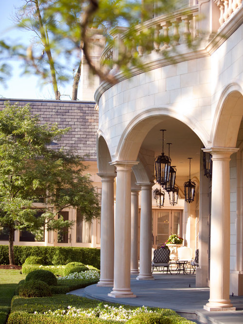 Covered loggia home design ideas pictures remodel and decor for Loggia house
