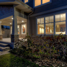 Traditional Exterior by Black Tusk Development Group Ltd.
