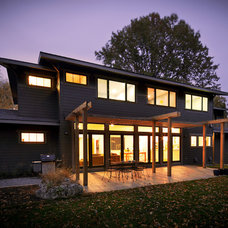 Modern Exterior by DRAW Architecture