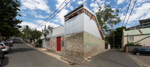 Industrial Exterior by Carter Williamson Architects