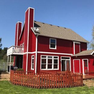 Exempel på ett amerikanskt hus