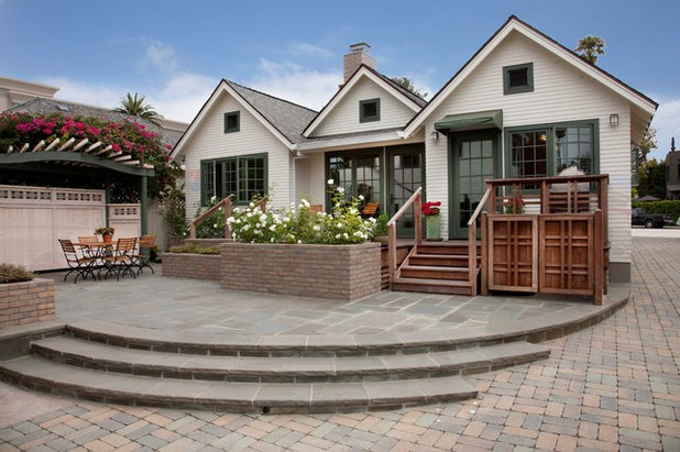 Traditional Exterior by Gatling Design