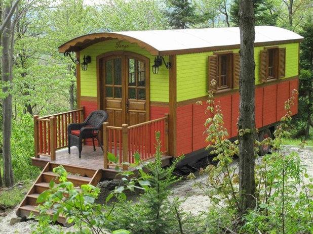 architecture vivre dans une roulotte mode d 39 emploi. Black Bedroom Furniture Sets. Home Design Ideas
