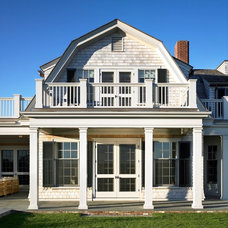 Beach Style Exterior by Patrick Ahearn Architect
