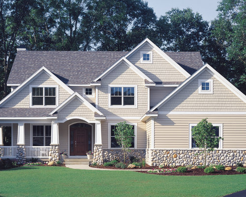Exterior siding design ideas Vinyl siding house plans
