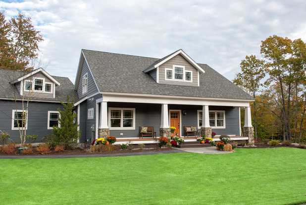 Craftsman Exterior by All in the Details