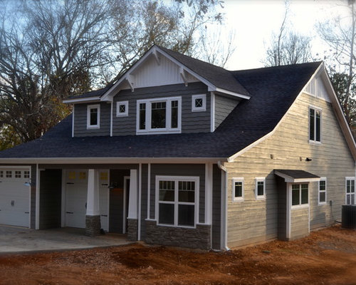 Mid Sized Craftsman Exterior Design Ideas Remodels