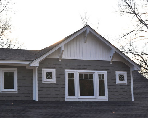 Affordable Mid Sized Craftsman Two Story Exterior Design